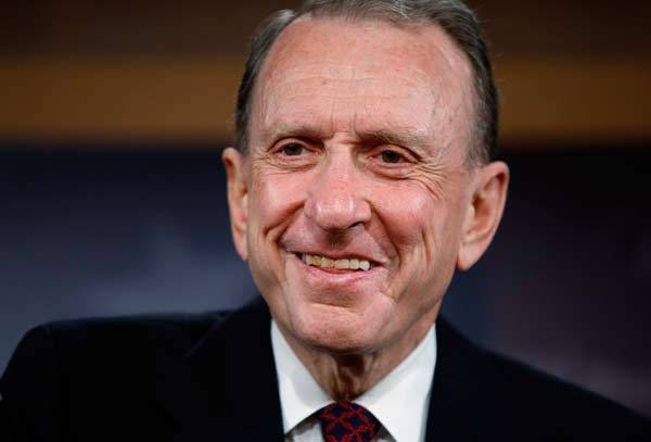 Notable deaths from 2012: Arlen Specter, former U.S. Senator from Pennsylvania, passed away at age 82.
