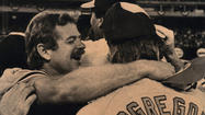 "<strong>Oct. 16, 1983: </strong>The Orioles win their third and most recent World Series as Scott McGregor pitches a five-hitter to beat the Phillies, 5-0, in Game 5 in Philadelphia. First baseman <a href=""/sports/baseball/bal-eddiestories,0,3918685.special""></a>Eddie Murray</runtime:link> ends a slump by hitting two home runs. Catcher Rick Dempsey, a .231 hitter, earns Most Valuable Player honors and reacts with disbelief. ""In 11 years, I've never been hot,"" he says."