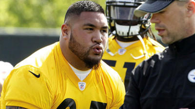 Authorities say Pittsburgh Steelers rookie Alameda Ta'amu fled police and crashed into parked cars while driving drunk, then was arrested.