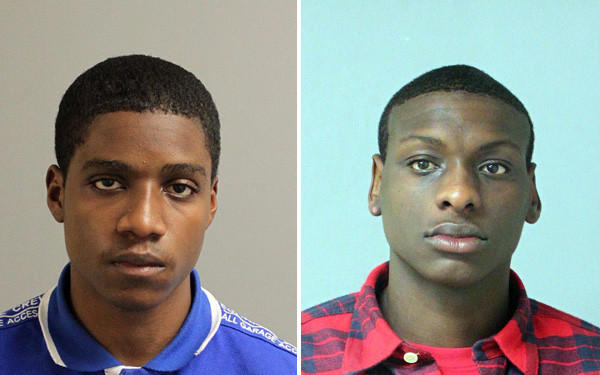 Ronald Lee McLeod, 18, of Columbia (left), and Daniel Alex Savage, 18, of Glen Burnie, have been charged with first-degree murder in the shooting of Matthew Morrow, 21, in Pasadena on Oct. 13.