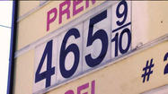 SAN DIEGO -- The average price of a gallon of self-serve regular gasoline in San Diego County dropped 1.7 cents Sunday to $4.65, the sixth consecutive decline following a six-day streak of increases.