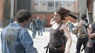 Maggie (Lauren Cohan) brings the ruckus