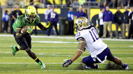 Oregon fans have been advised to stay away from sharp objects following their beloved Ducks' disturbing No. 3 debut in the first Bowl Championships Series standings.