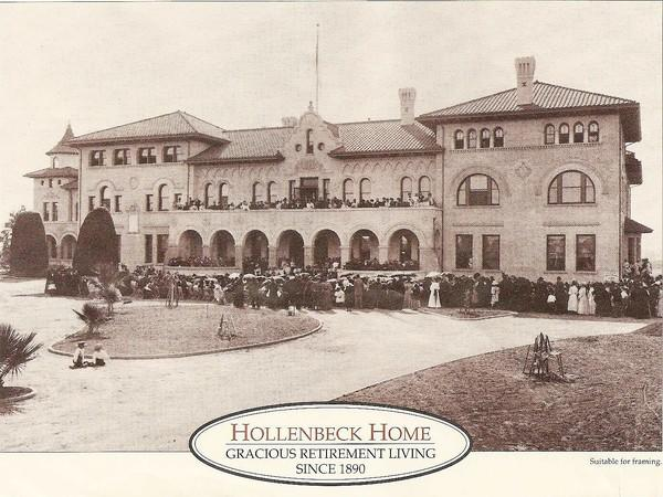 Hollenbeck Home for the Aged in Boyle Heights on Sept. 6, 1896
