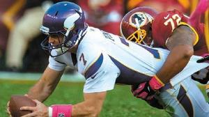 Redskins top Vikings 38-26