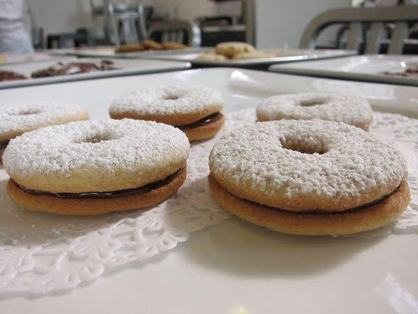 Chocolate Raspberry Linzer Cookies, a favorite from last year's competition.