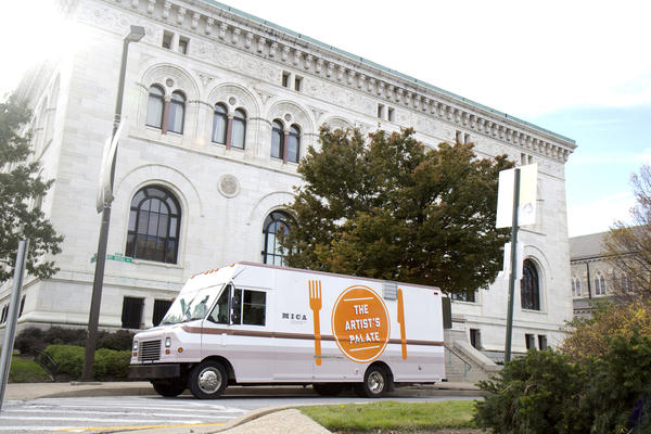 The Artist's Palate is a food truck for the Maryland Insittute, College of Art community