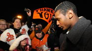 Orioles fans were whipped into a frenzy Monday at the notion that star Adam Jones might be moving to town.