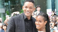 Baltimore native Jada Pinkett Smith and her husband, Will, are expecting Michelle Obama over for lunch -- and some other very fancy guests.
