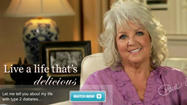 Paula Deen for Novo Nordisk diabetes medications