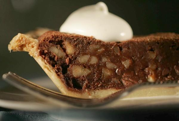 Rum-Walnut-Chocolate-Chip Pie