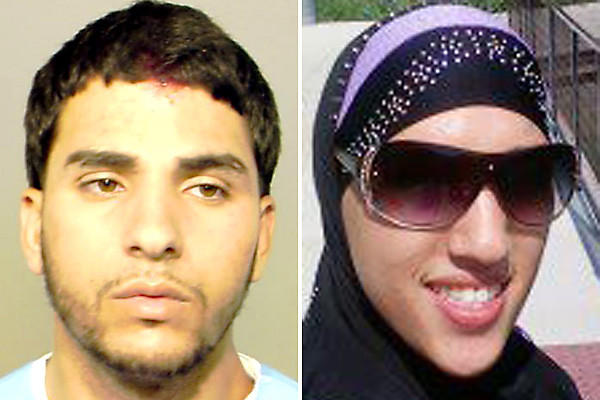 Ibrahim Aysheh, 22, left, was charged with Involuntary Manslaughter and Unlawful Use of Weapon in the death of his sister, Nawal Aysheh, 20, right.