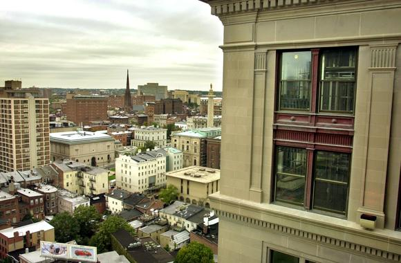 The 15th floor of the Standard Oil Building on St. Paul Street offers great views of Mt. Vernon as well as the rest of the city. The building was renovated into apartments about 10 years ago.