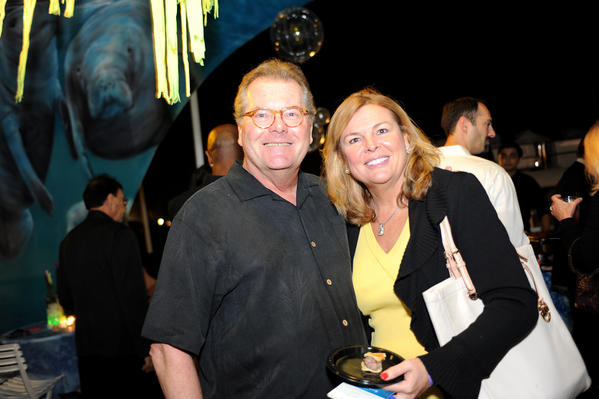 "Gregg Sjoquist, left, and Chris Landshut at last year's ""BeachBash"" event. This year's event will take place on Nov. 1 at Pier 66. The event, which is a part of the 17th annual ""AT&T Jeb Bush Florida Classic,"" will benefit the Cystic Fibrosis Foundation. For more information, visit www.BeachBash.com."