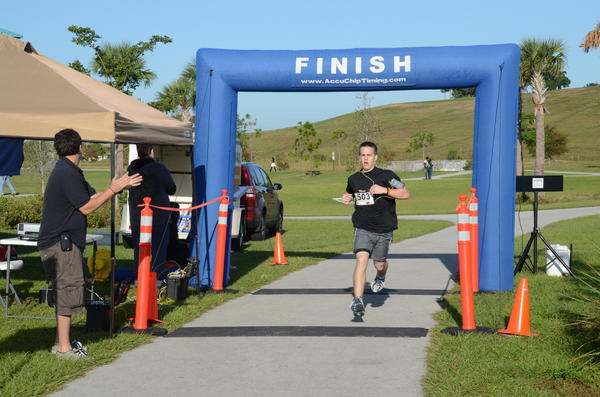 "Carson Bench was last year's first place runner at The Salvation Army's ""Red Kettle 5K Run/Walk."" This year's event will take place on Nov. 3 at Vista View Park located in Davie. To register, visit www.Active.com."
