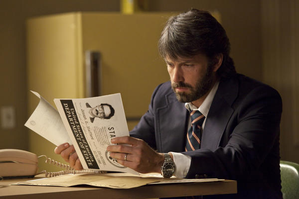 "Ben Affleck is Tony Mendez in ""Argo,"" a presentation of Warner Bros. Affleck acted and directed in this film based on the life of local resident Tony Mendez"