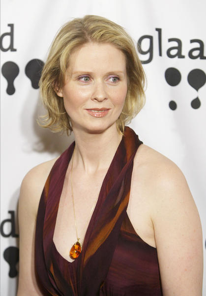 Best known for her portrayal of Miranda Hobbes in the HBO series Sex and the City, Nixon became a breast cancer advocate after she beat the disease in 2008.