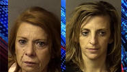 An Anderson nurse and her daughter were arrested Monday for insurance fraud and dealing drugs.