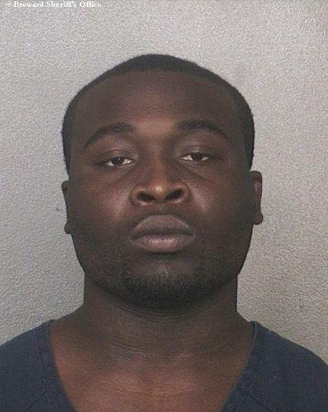 Ronnie Tyson, 20, surrendered Monday, Oct. 15, 2012, for a failed pepper spraying robbery attempt and felony murder of Kimberly Clarke, 28, at a Jamaica Night party in Weston.