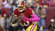 Only seven days before Robert Griffin III became the first rookie quarterback of the modern era to rush for 100 yards and two touchdowns, a blow to the head made him woozy enough to wonder whether he was RGIII, II or I.