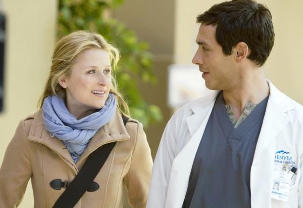 "Mamie Gummer and Michael Rady star in ""Emily Owens, M.D."""
