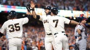 Cardinals fall to Giants in game 2 of NLCS