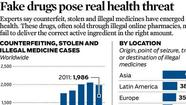 Fake drugs pose real health threat