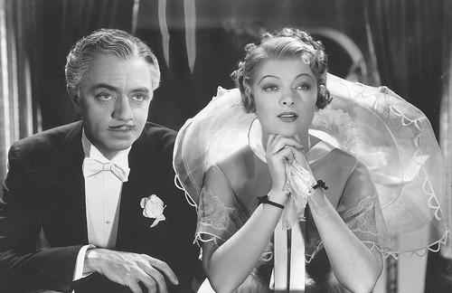 William Powell & Myrna Loy in 'The Great Ziegfeld'