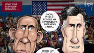 Presidential debate: Will Romney make the ultimate flip-flop?