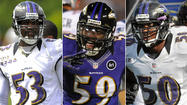 Nearly a year ago, inside linebacker Ray Lewis' foot injury sidelined him for four games and created a void of experience and leadership on the Ravens' defense.