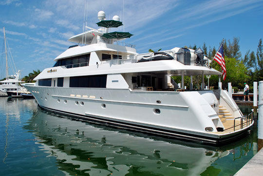 The 130 feet Westport yacht, the Mary Alice II, was originally owned by Johnny Carson and is currently up for sale. It will be available for viewing at the Fort Lauderdale International 2012 Boat Show.