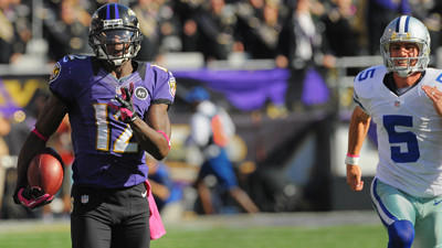 Tale of the tape: Jacoby Jones' record-setting return