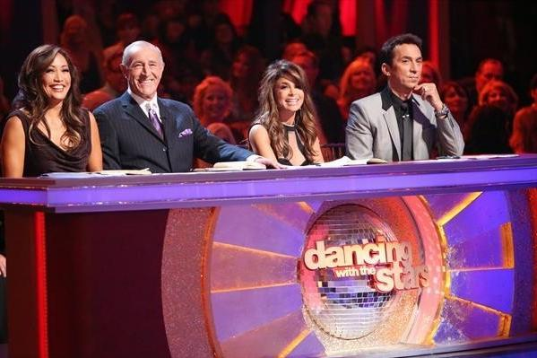 Paula Abdul guest judges on Week Four of dancing with the stars.