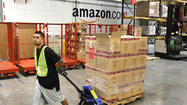 Amazon.com, the online retailer that has many brick-and-mortar companies on the defensive, said it will hire more than 50,000 seasonal employees nationwide for the holiday shopping season.