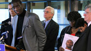 "Attorneys with Northwestern University Law School filed a class-action petition today asking a judge to grant hearings to scores of men imprisoned for murder who have ""credible claims"" they were tortured into confessing by disgraced former Chicago police Cmdr. Jon Burge or detectives under his control."