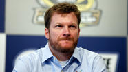 Earnhardt visits concussion specialist in Pa.