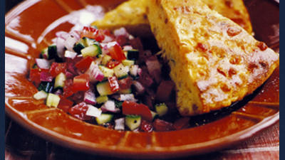 Hosts hoping to offer their guests something new should consider complementing the entree with a unique, homecooked side like Southwest Cornbread.