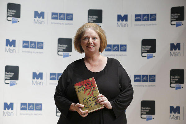 "Hilary Mantel has won the Man Booker Prize, her second, for the novel ""Bring Up The Bodies."""