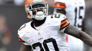 Montario Hardesty, RB, Browns