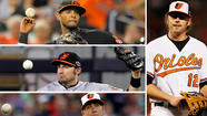 What do the Orioles do with the right side of the infield?