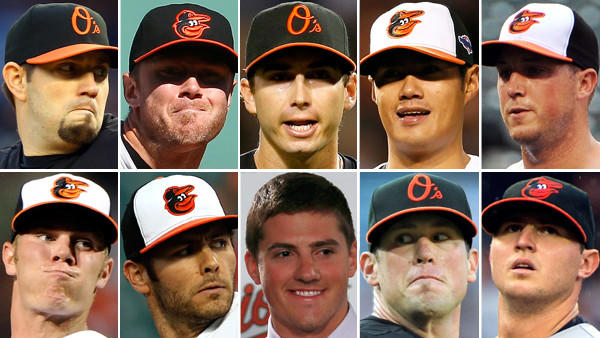 The Orioles have plenty of options for once, even if Saunders does not return.<br>