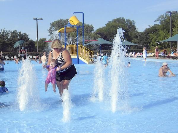 Fees for non-residents are recommended to increase by 25 percent next year at Wilmette Park District's Family Aquatic Center, pictued here Aug. 15, 2012, after residents complained of overcrowding.
