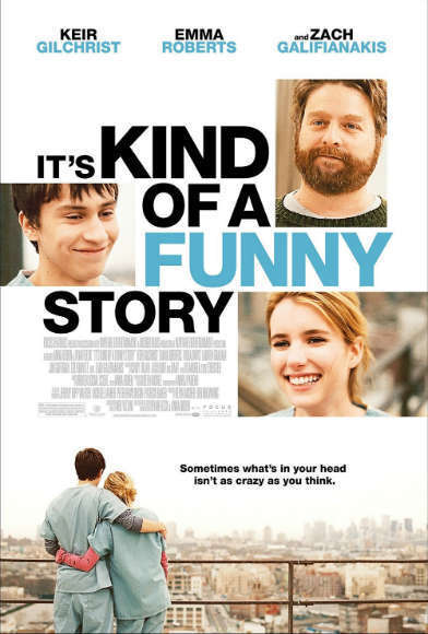 "<b>The book</b>: ""It's Kind of a Funny Story"" by Ned Vizzini.<br> <b>The movie</b>: ""It's Kind of a Funny Story"" starring Keir Gilchrist, Emma Roberts and  Zach Galifianakis<br><br> <script type=""text/javascript"" charset=""utf-8"" src=""http://static.polldaddy.com/p/6613450.js""></script> <noscript><a href=""http://polldaddy.com/poll/6613450/"">Which version of ""It's Kind of a Funny Story"" is better?</a></noscript>"