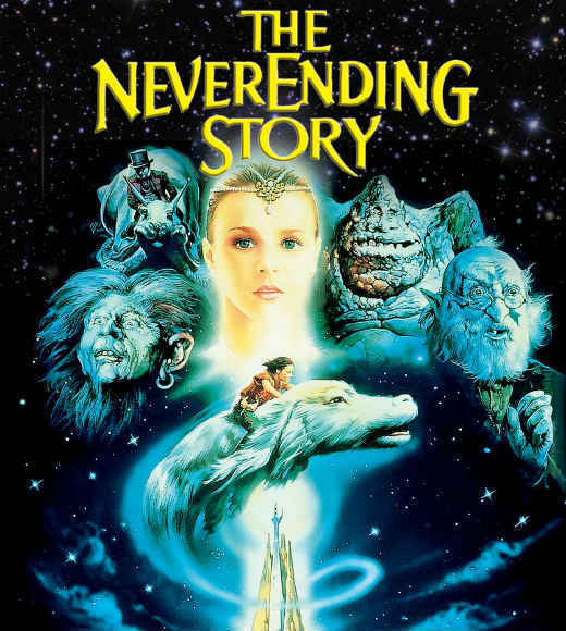 Hollywood celebrates Teen Read Week with Harry Potter, Percy Jackson, Katniss Everdeen and more: The book: The Neverending Story by Michael Ende The movie: The NeverEnding Story starring Noah Hathaway, Barret Oliver and Tami Stronach  Which version of The Neverending Story is better?