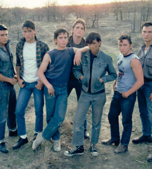 "<b>The book</b>: ""The Outsiders"" by S.E. Hinton<br> <b>The movie</b>: ""The Outsiders"" starring C. Thomas Howell, Matt Dillon, Ralph Macchio, Patrick Swayze, Rob Lowe, Emilio Estevez and Tom Cruise<br><br> <script type=""text/javascript"" charset=""utf-8"" src=""http://static.polldaddy.com/p/6613444.js""></script> <noscript><a href=""http://polldaddy.com/poll/6613444/"">Which version of ""The Outsiders"" is better?</a></noscript>"