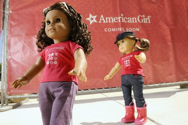 A 16% increase in American Girls dolls sales helped Mattel post strong third-quarter results.