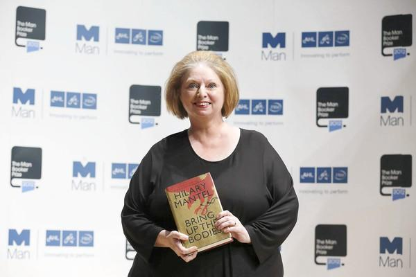 British author Hilary Mantel won her second Booker Prize.