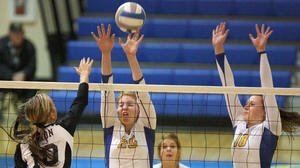 Central nets ESD conference volleyball title