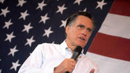 Fresh off of last night's debate, Mitt Romney will campaign in our state today.