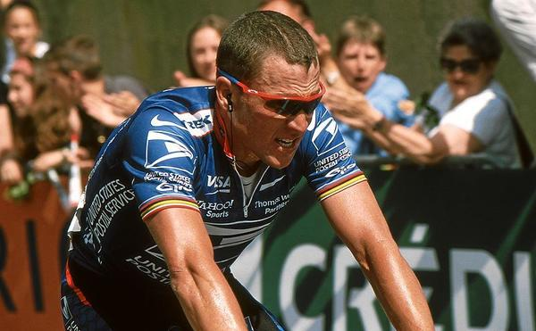 Lance Armstrong in the Grand Prix Midi Libre, 2002